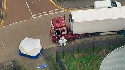 Вантажівка з 39 мертвими у Британії: поліція висловила офіційні звинувачення