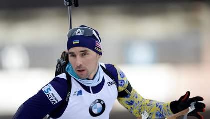Украинец Прима выступит вместо россиянина Логинова на масс-старте чемпионата мира по биатлону