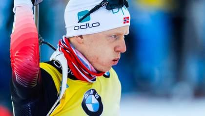 Йоханнес Бё стал чемпионом мира по биатлону, украинцы снова не попали на подиум