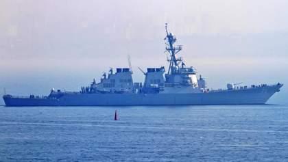Військовий корабель США зайшов у Чорне море: Росія відреагувала