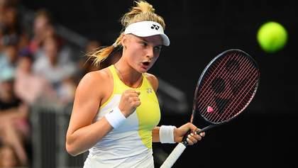 Ястремська впевнено перемогла досвідчену бельгійку на турнірі WTA