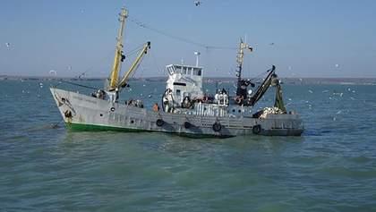 Россия отпустила задержанных на Азове украинских рыбаков
