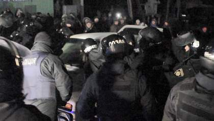 Протести у Нових Санжарах: поліція спростувала свою ж інформацію про арешт чотирьох людей