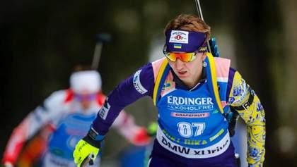 Чемпионат Европы по биатлону: Елена Пидгрушная стала серебряным призером