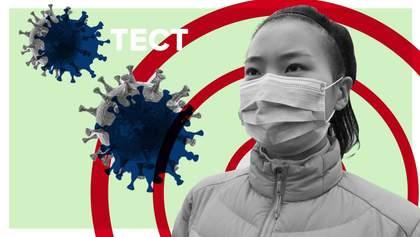 Тест: Що ви знаєте про коронавірус