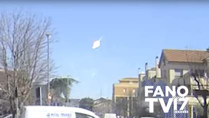 Над Хорватією вибухнув метеорит – відео