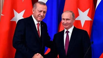 """Эрдоган сказал Путину """"уйти с дороги"""" в Сирии: что ответили в России"""
