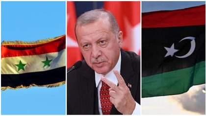 Сирия и Ливия договорились совместно бороться против вмешательства армии Эрдогана