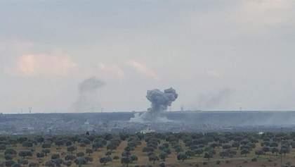 Турция уничтожила уже второй военный аэропорт на севере Сирии: фото