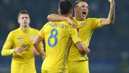 Ліга націй: суперники збірної України на груповій стадії