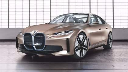 BMW показала концепт своего нового электромобиля – конкурента Tesla Model 3