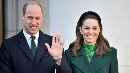 Герцоги Кембриджские прибыли с официальным визитом в Ирландию: фото