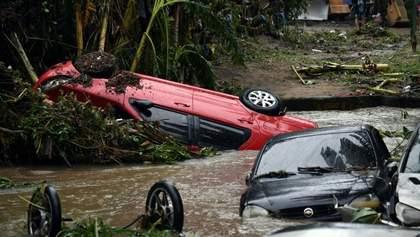 Мощные ливни накрыли Бразилию: погиб 41 человек – фото, видео