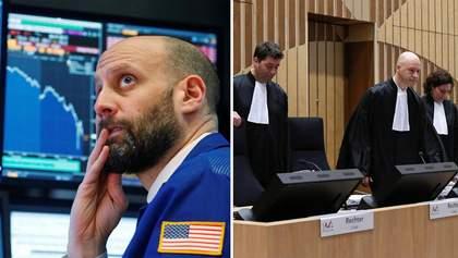 Головні 9 березня: обвал світових ринків, суд щодо збиття MH17