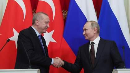 Не могут позволить открытую войну: почему Эрдоган и Путин решили договариваться