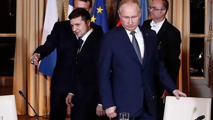 Нельзя усидеть на двух стульях, – Зеленский о сближении Макрона с Путиным