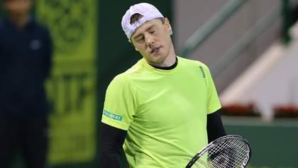 Марченко вслед за Стаховским проиграл второй матч на Кубке Дэвиса