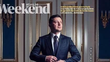 Зеленський потрапив на обкладинку The Guardian: фото