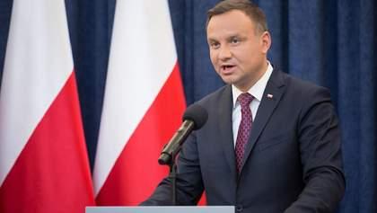 Президент Польши подписал спецзакон по борьбе с коронавирусом