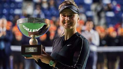 Элина Свитолина – победительница престижного турнира WTA в Монтеррее