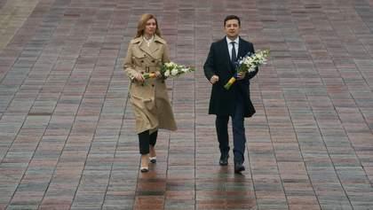 Зеленський разом із дружиною вшанував пам'ять Тараса Шевченка: фото
