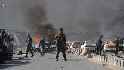 На інавгурації президента Афганістану впали дві ракети