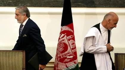 В Афганістані одразу дві людини проголосили себе президентами