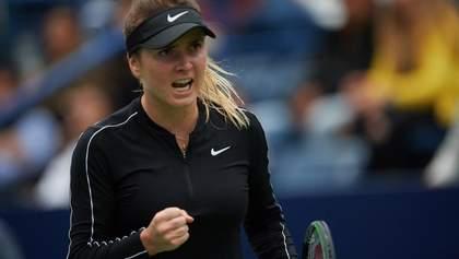 Сумасшедший розыгрыш в исполнении Свитолиной стал лучшим на турнире WTA: видео
