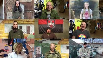 Захисники на передовій прочитали вірші Шевченка: зворушливе відео