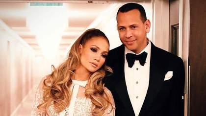 Алекс Родрігес привітав Дженніфер Лопес із річницею заручин: зворушливе відео