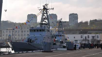 "Патрульні катери ""Айленд"" ВМС України вийшли в море: фото"