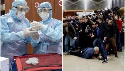 Главные новости 12 марта: новые случаи коронавируса в Украине, беспорядки на встрече с Сивохо