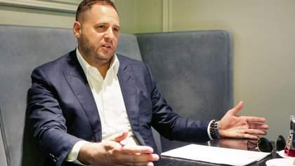 Єрмак пояснив скандальні домовленості у Мінську