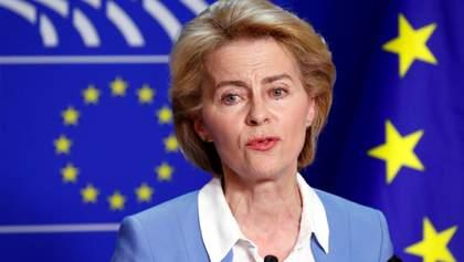 Зупинити коронавірус в Європі неможливо, – Урсула фон дер Ляйєн