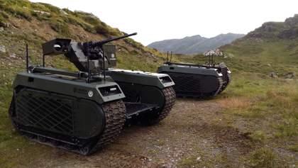 Техніка війни: Робот для заміни солдата на полі бою. Датчики попередження про ракетну атаку