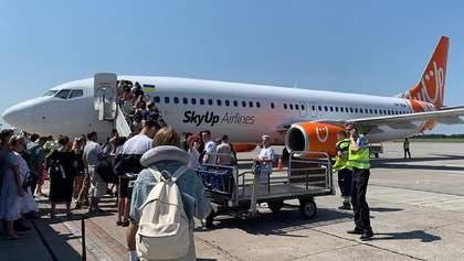 SkyUp начал вывозить украинцев из Египта