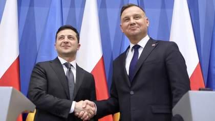 Зеленский провел телефонный разговор с президентом Польши Дудой: говорили о коронавирусе