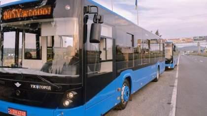 В Ужгороді зупиняють роботу громадського транспорту