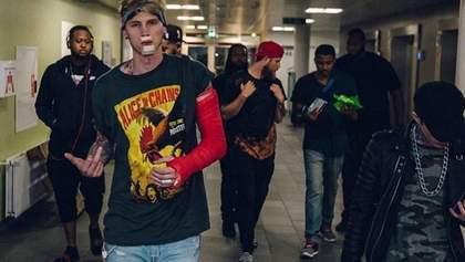 Рэпер Machine Gun Kelly выпустил видео на совместный трек с Young Thug