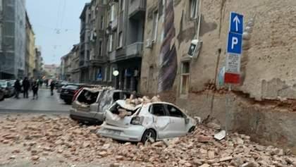 У Хорватії сталися два потужні землетруси: постраждала дитина – фото