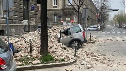 Землетрясение в условиях карантина в Хорватии: повреждены больницы, многим негде изолироваться