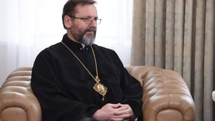 УГКЦ готова превратить свои храмы в больницы: заявление Блаженнейшего Святослава
