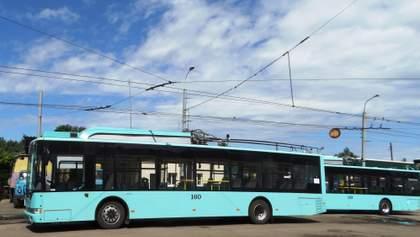 У Сумах зупиняється майже весь комунальний транспорт