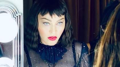 Мадонна обнажилась в молочной ванной и высказалась о пандемии: Все равны перед вирусом