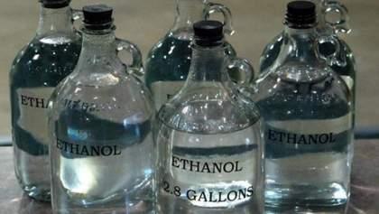 Правительство запретило экспорт этилового спирта