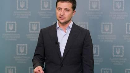 Зеленский поблагодарил украинцев за поддержку в борьбе с коронавирусом