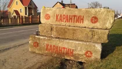 Шесть сел на Тернопольщине из-за коронавируса заблокировали полицейские