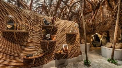 В Мексиці облаштували магазин посеред джунглів – фото