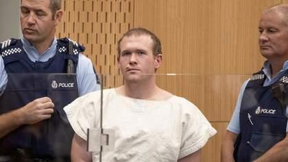 Теракт у Новій Зеландії: підозрюваний у вбивстві 51 людини таки визнав свою провину