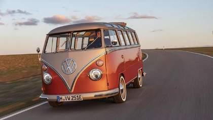 Volkswagen перетворила культовий мікроавтобус 60-х в електрокар: фото